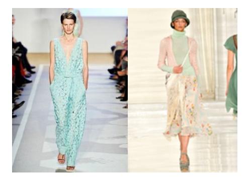modne kolory NA LATO