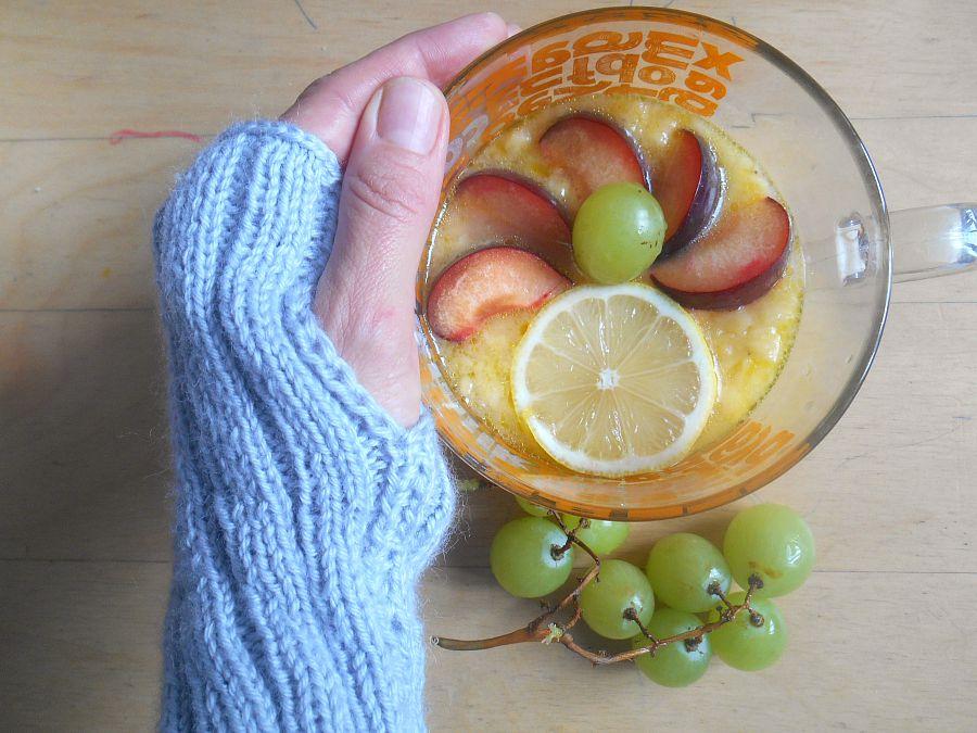 jak jeść winogrona