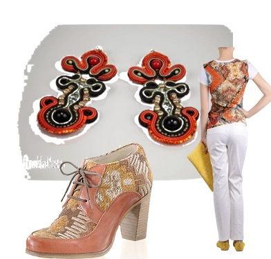 crochet mandala i navajo, , bizuteria Anusha designe i motywy etniczne w modzie