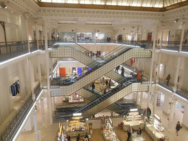 LE Bon Marché - zakupy w Paryzu