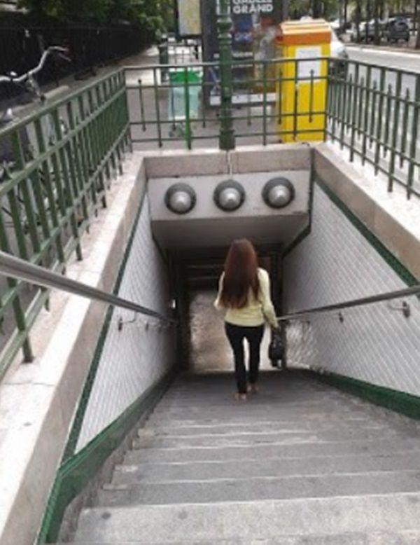 metro w Paryzu