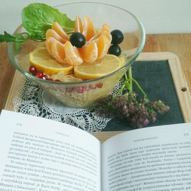 #fotokalendarz #czytam @kameralna #healthyfood #foodporn