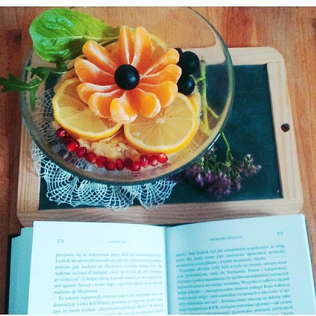 #czytam #fotokalendarz @kameralna #bezpospiechu #zimowewyzwanie @jestrudo #livre #healthyfood #foodporn