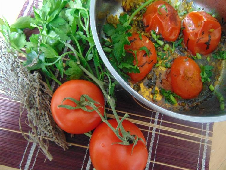 gotowane pomidory przepis