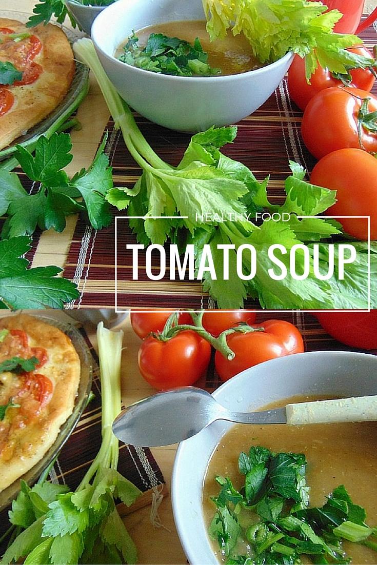 szybka zupa pomidorowa przepis  TOMATO SOUP