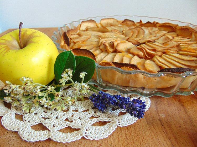 Ekspresowa tarta jabłkowa przepis