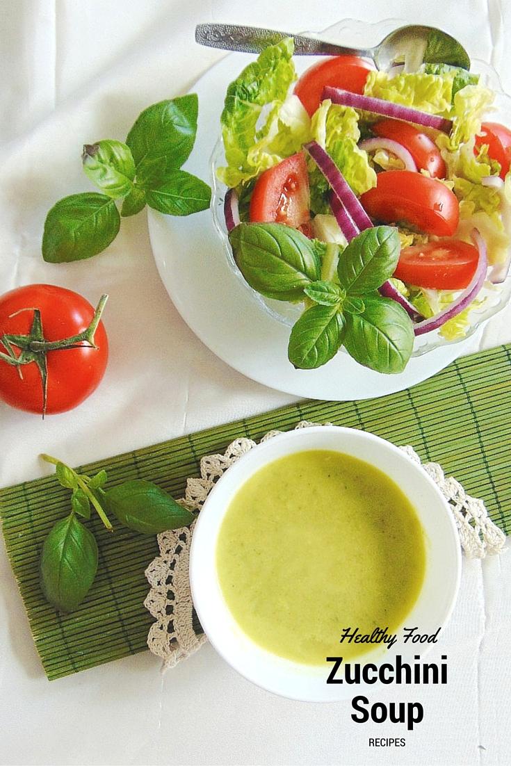 zupa z cukinii recipe zucchini soup