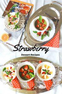 Strawberry Dessert Recipes DESER TRUSKAWKOWY