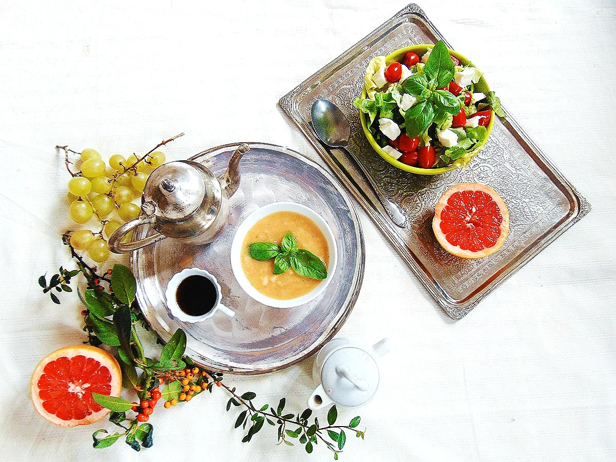 salatka mozzarella pomidor