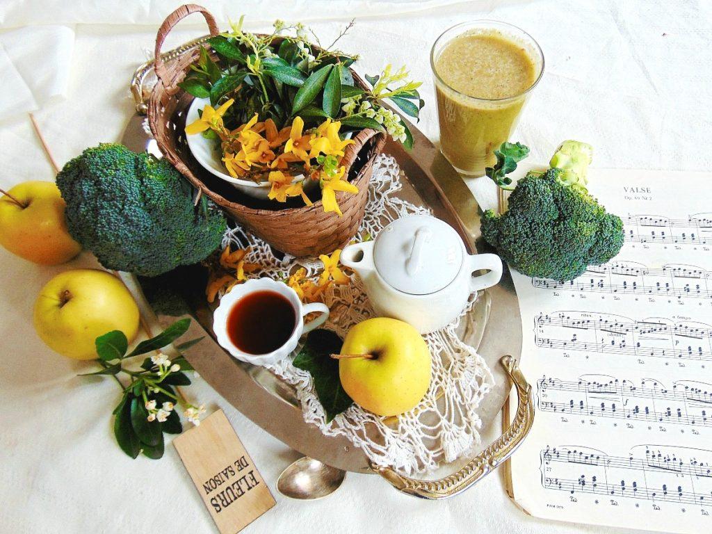 SMOOTHIE brokuły, koktajle odchudzające, koktajle warzywne