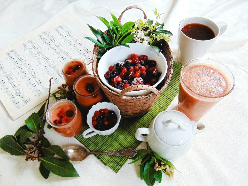 przepisy na smoothie malinowe smoothie