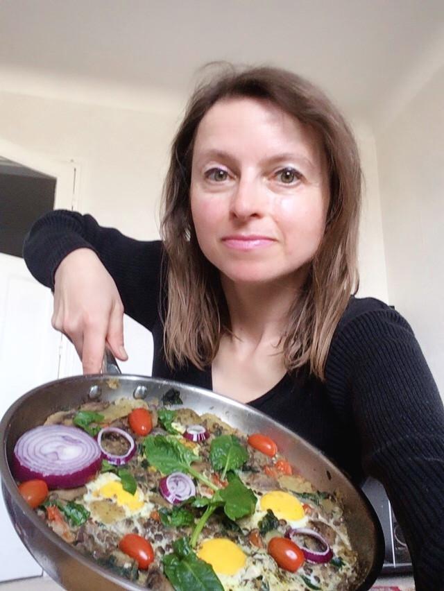 omlet warzywny przepis