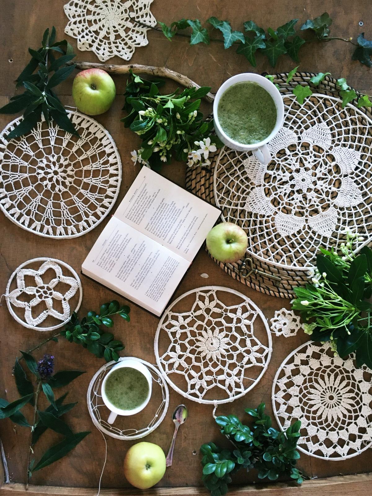 ZDROWE KOKTAJLE Jabłkowe smoothie z zielonego jabłka, lisci szczawiu
