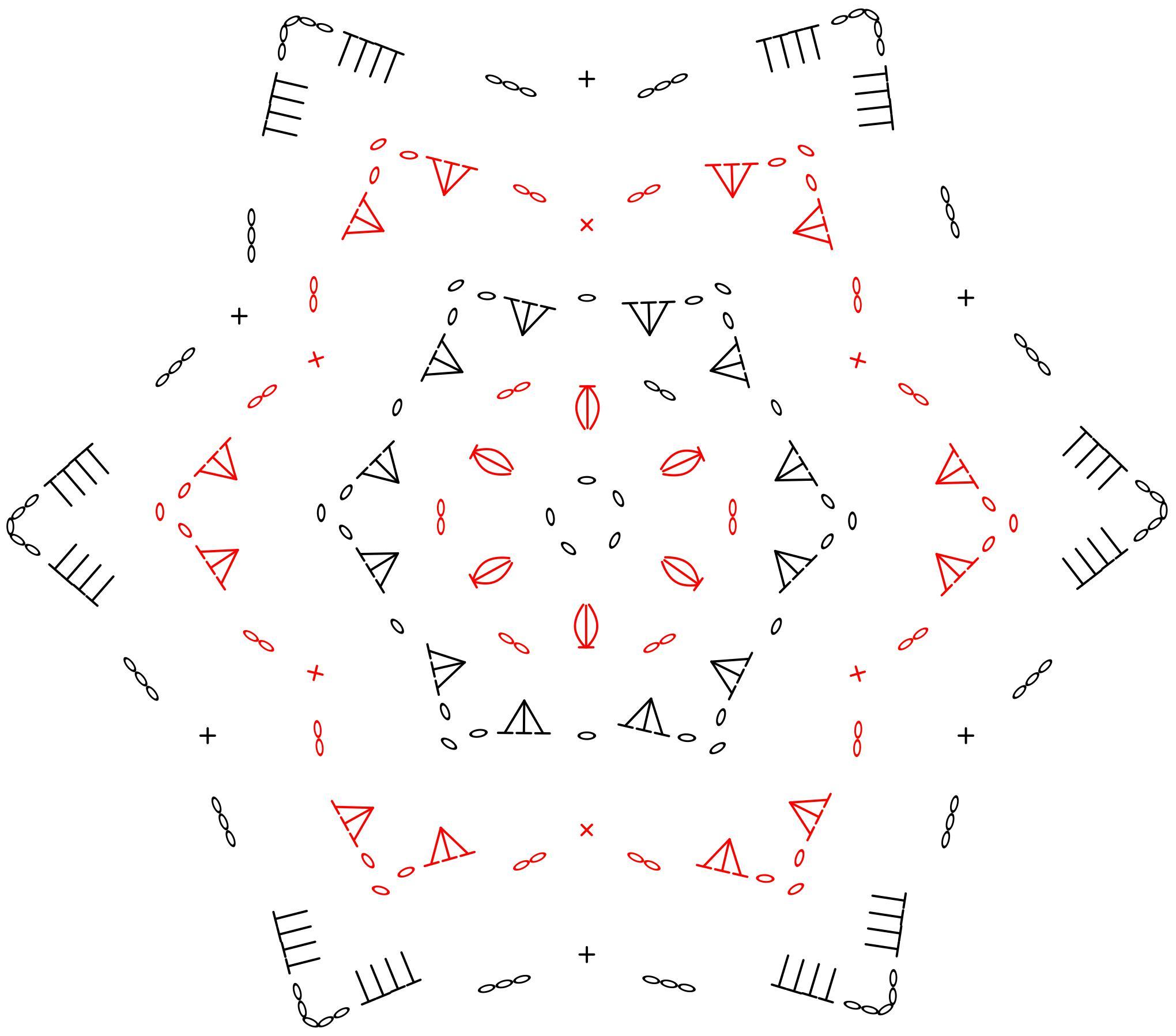 Szydełkowa gwiazdeczka na choinkę - tutorial krok po kroku