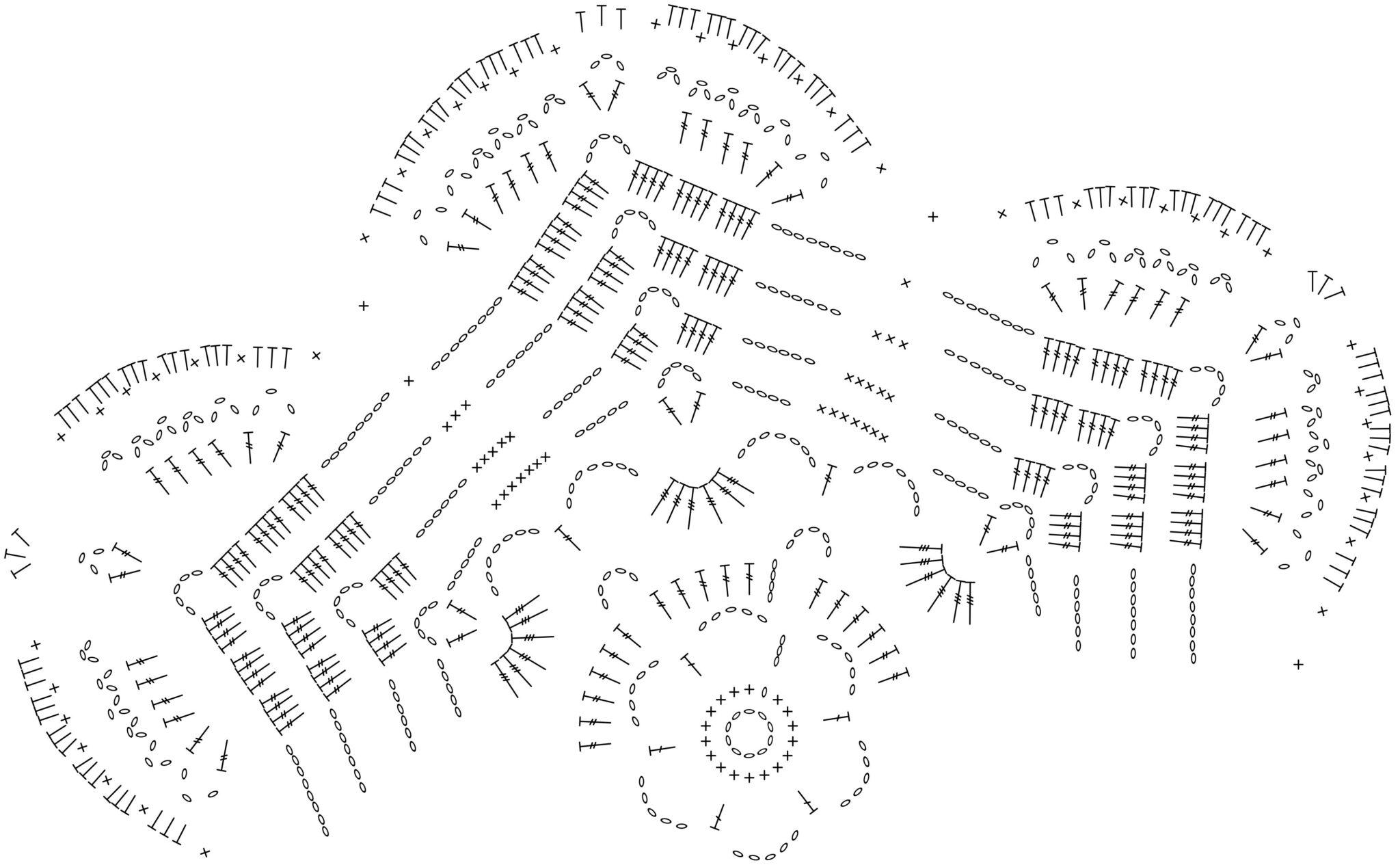 Koronkowa szydełkowa serwetka w formie 6 - cio kątnego kwiatka. Tutorial krok po kroku